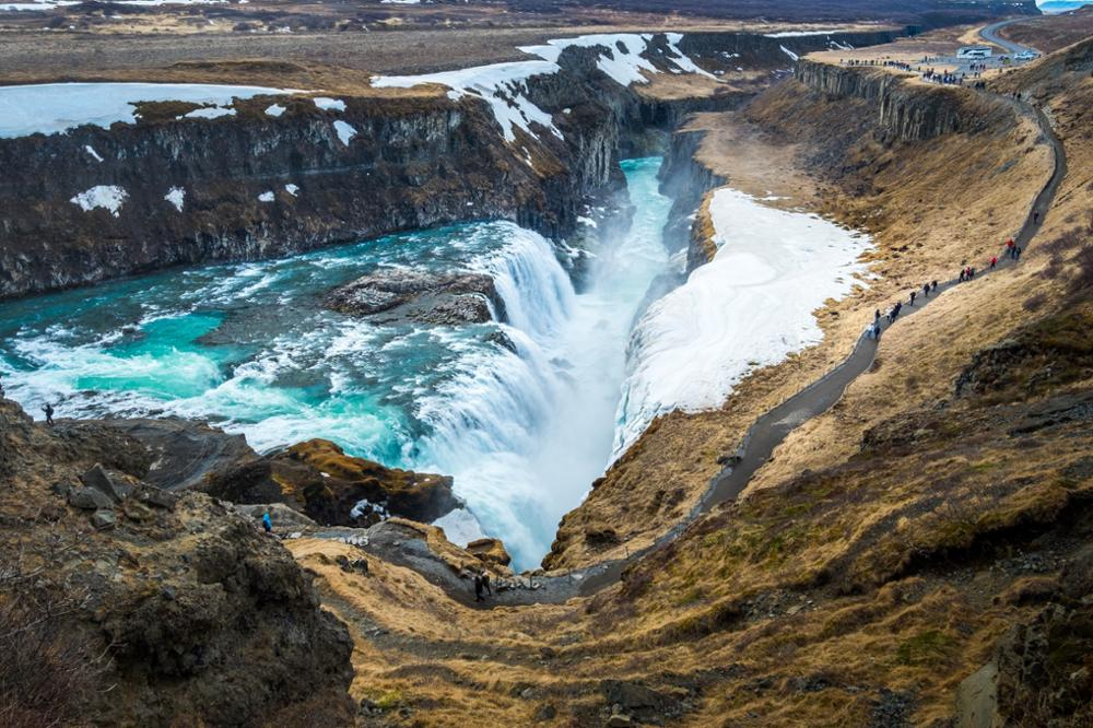 Les sites incontournables du cercle d'or en Islande