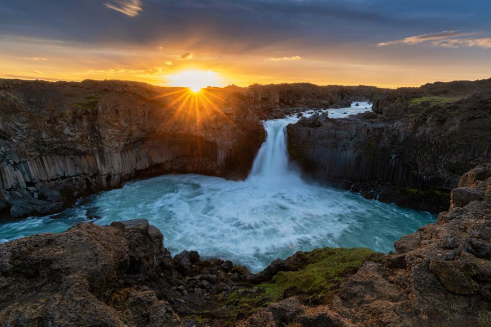 Le phénomène du soleil de minuit en Islande, où et quand l'observer ?